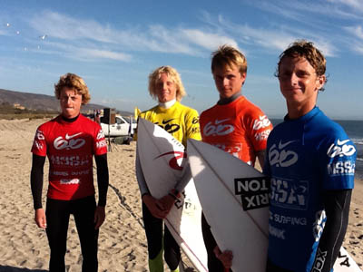 NSSA Open Event #3 2011, Upper Trestles Results