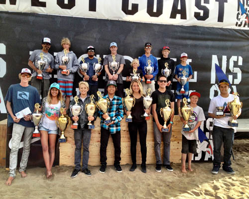 Results for the 2012 NSSA WEST COAST CHAMPIONSHIPS PRESENTED BY NIKE